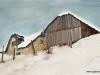 Case sub zăpadă